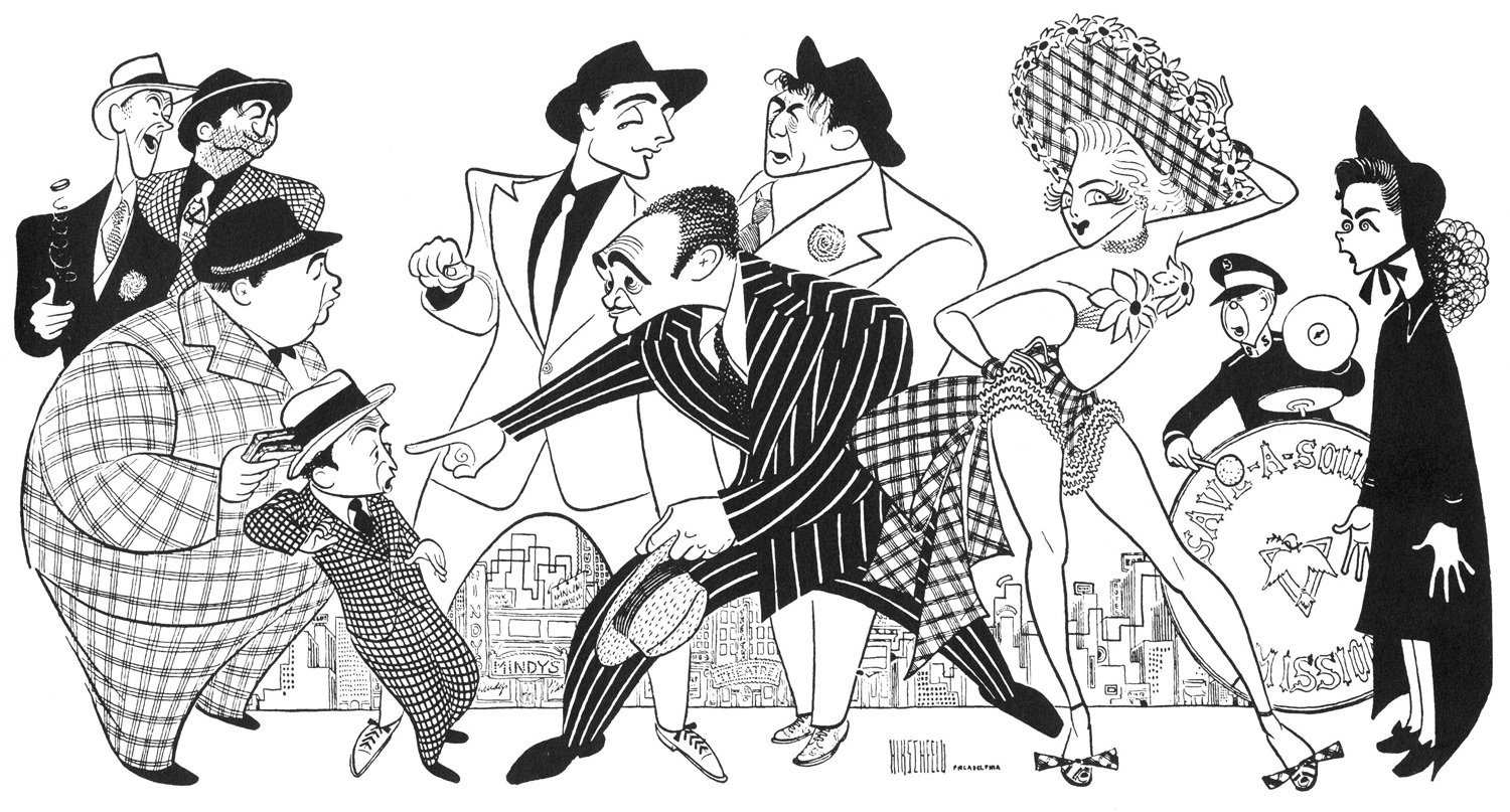 Image result for Al Hirschfeld illustrations