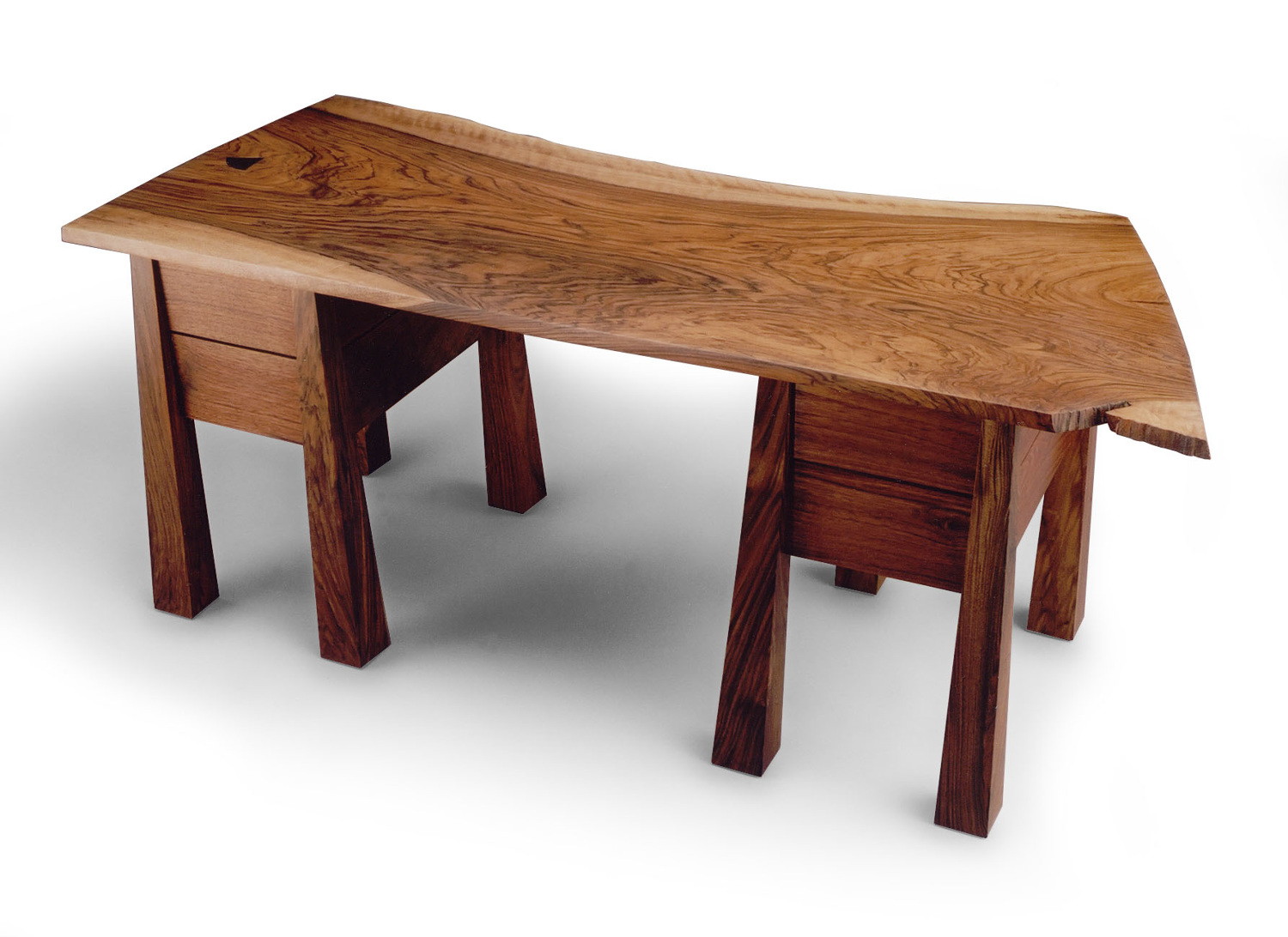 Japanese tea table furniture - Built Specifically For Japanese Tea Ceremony This Table Has Sliding Shelves That Pull Out To Support Tea Bowls The Top Is Made Of Locally Salvaged English